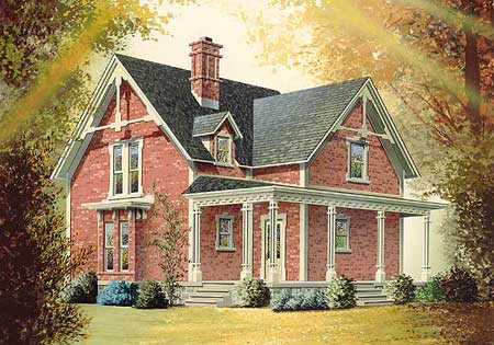 Проекты домов с двускатной крышей - Двускатная кровля