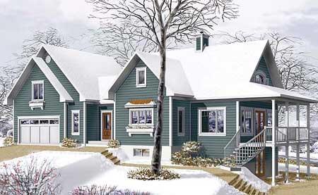 Проекты домов, проекты дачных