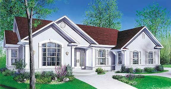 План этажа дома коттеджа