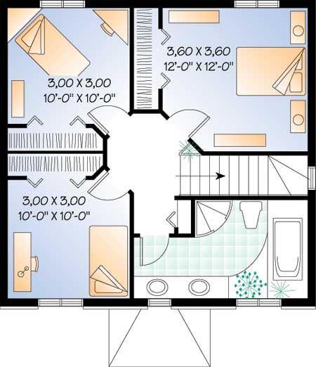 проект домов схема.